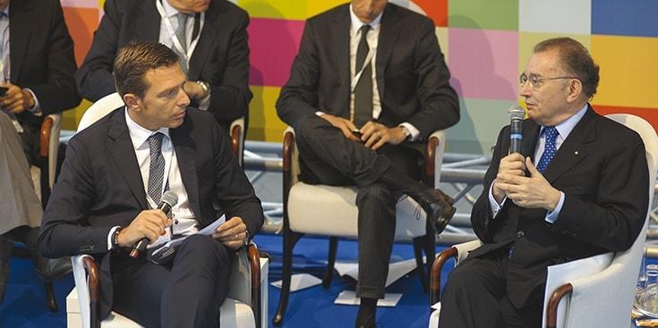 Andrea Dell'Orto e Squinzi